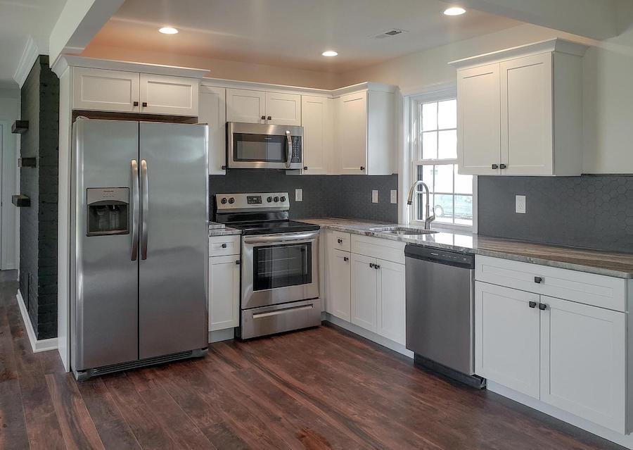 levittown rebuilt rancher kitchen