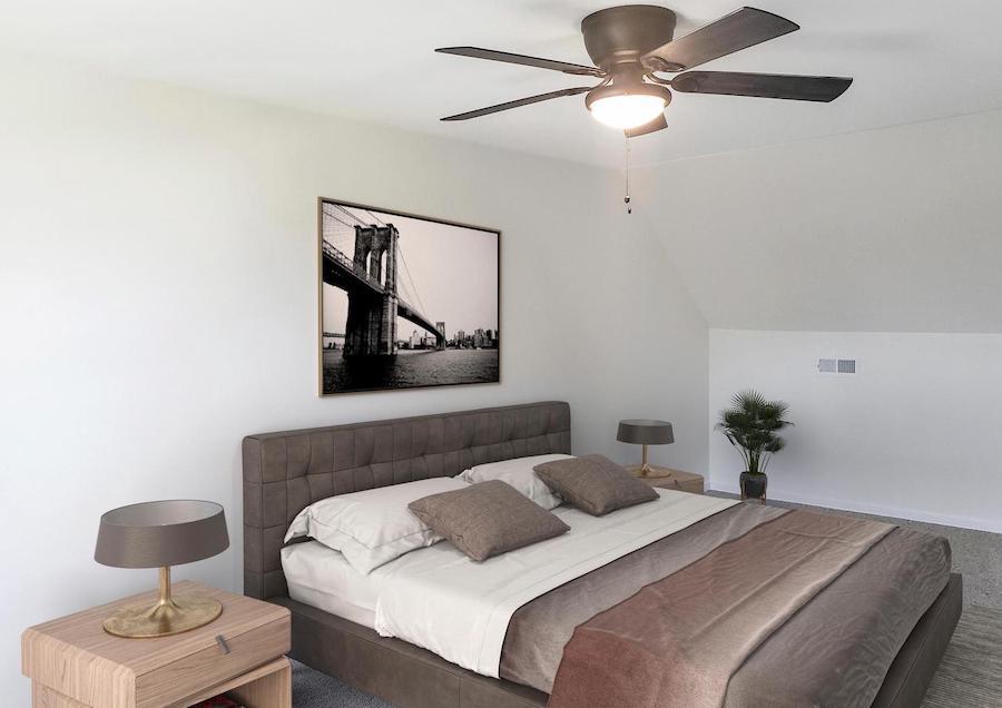 levittown rebuilt rancher master bedroom