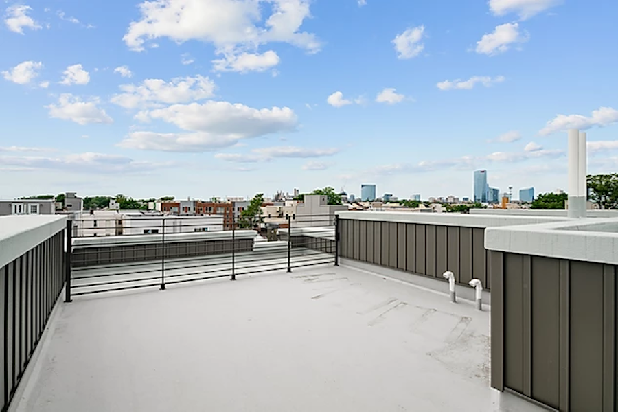 point breeze smith school townhouse roof deck