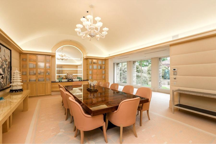 house for sale pottstown prairie style dining room