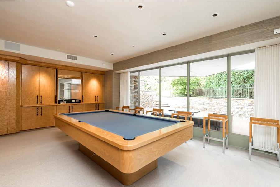 pottstown prairie style billiard room