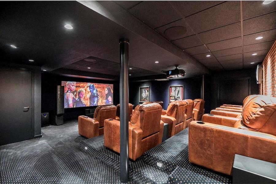 pottstown prairie style home theater