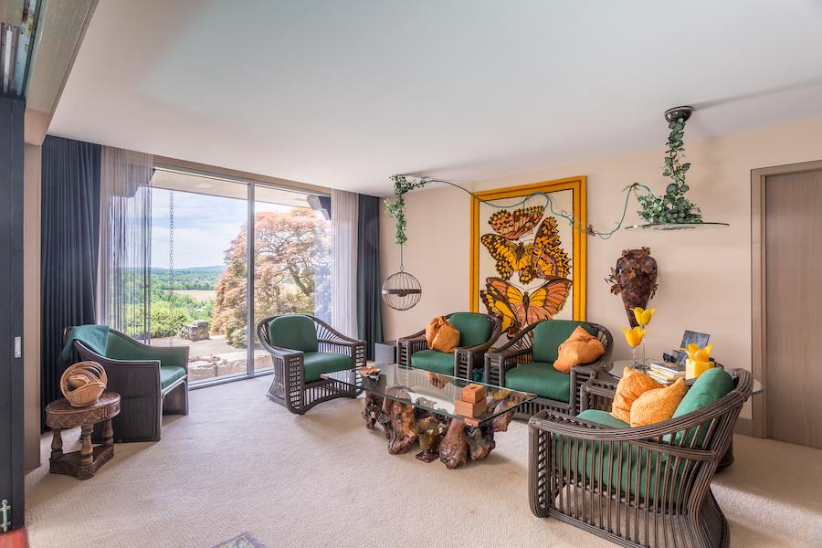 sinking spring hilltop mansion guest suite living room