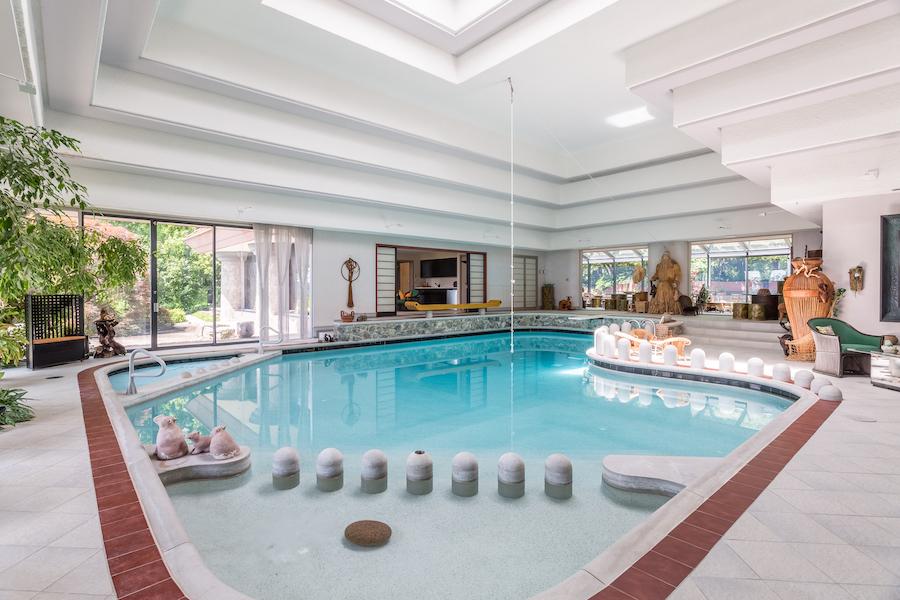 house for sale sinking spring hilltop mansion pool