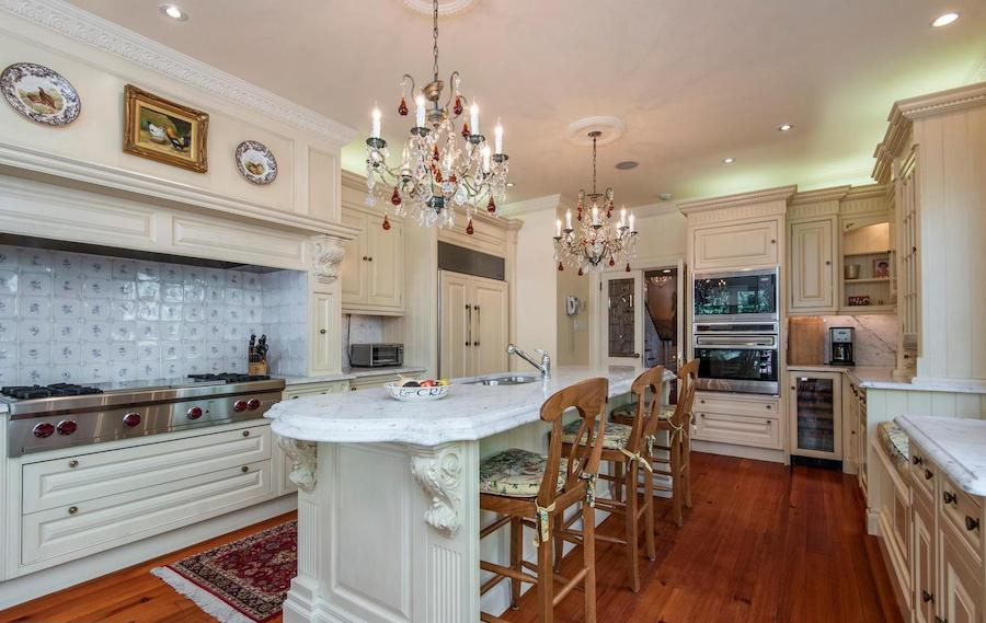 society hill federal townhouse kitchen