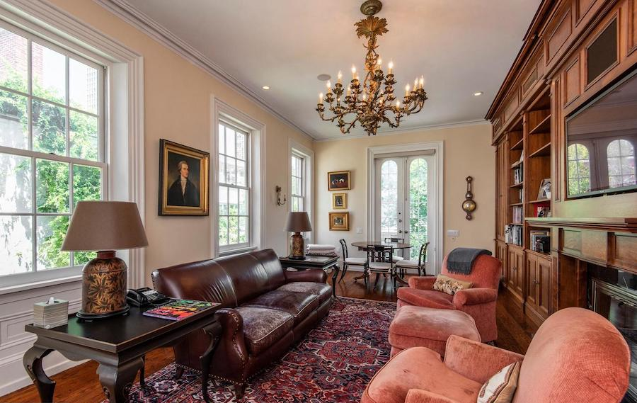 society hill federal townhouse library