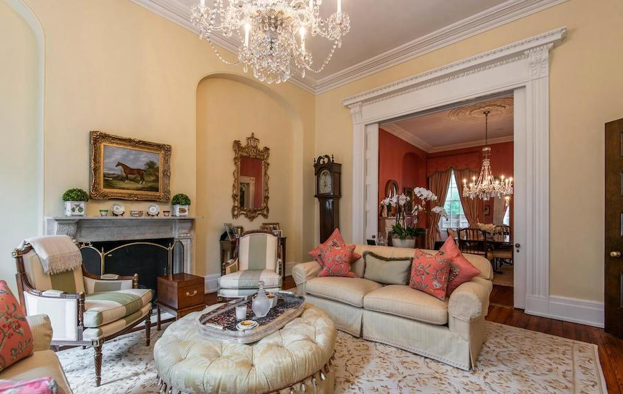 house for sale society hill federal townhouse living room