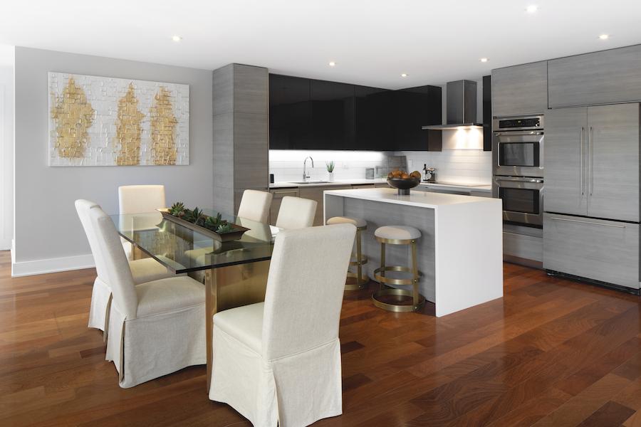 presidential city Washington 2BR penthouse apartment kitchen