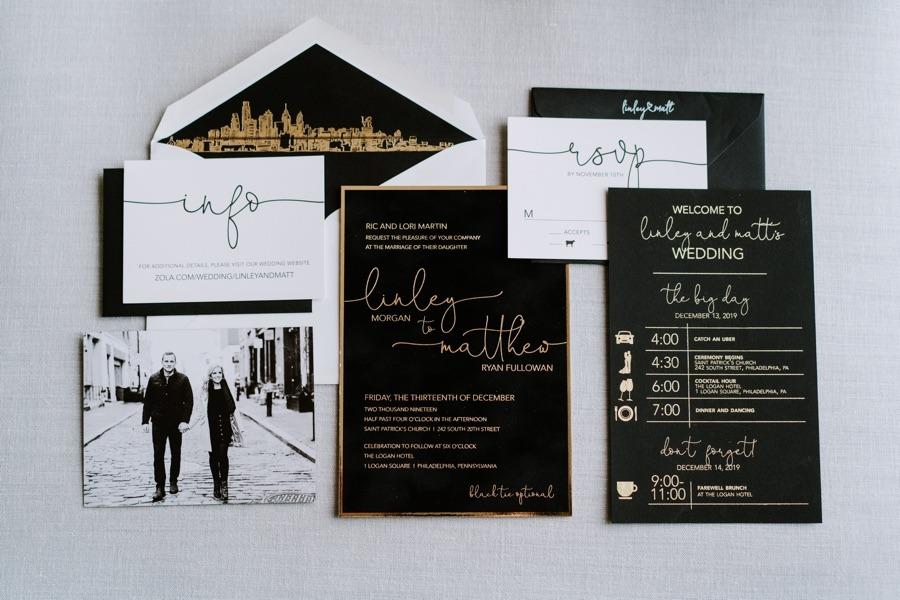 Chick wedding invitations