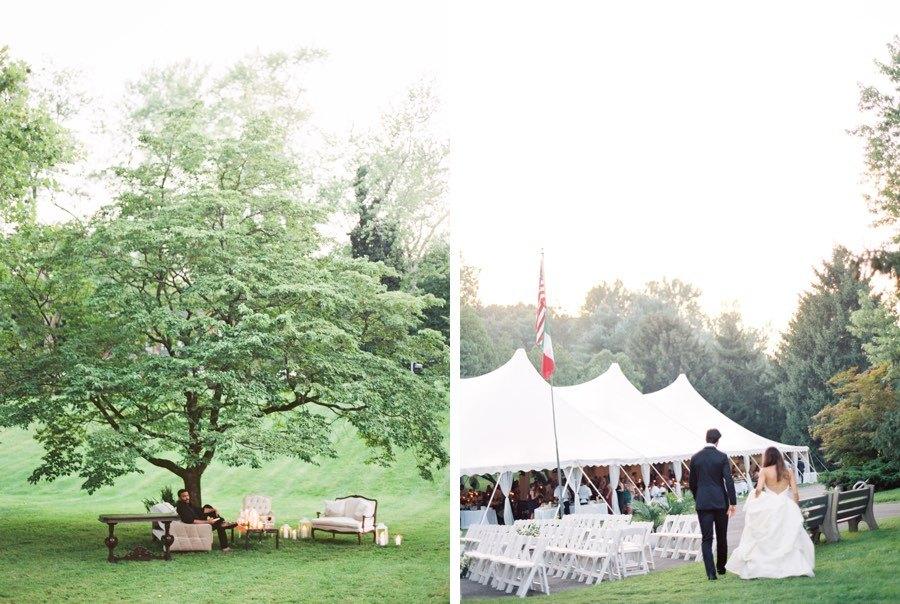 Allentown tent wedding