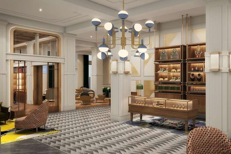 canopy hotel preview lobby