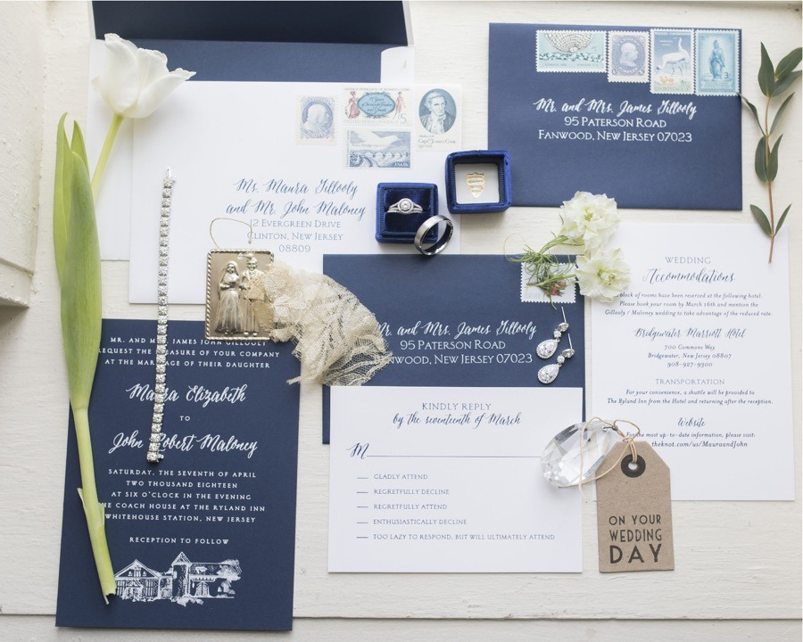 casa papel wedding invitation