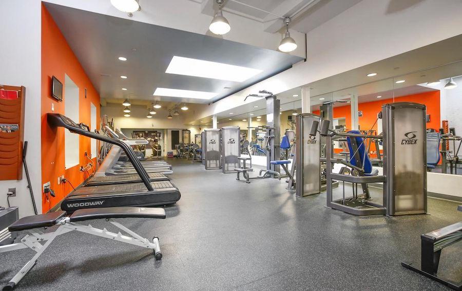 logan square phoenix loft condo fitness center