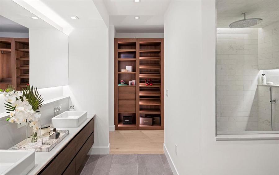 condo for sale rittenhouse square new construction master bathroom
