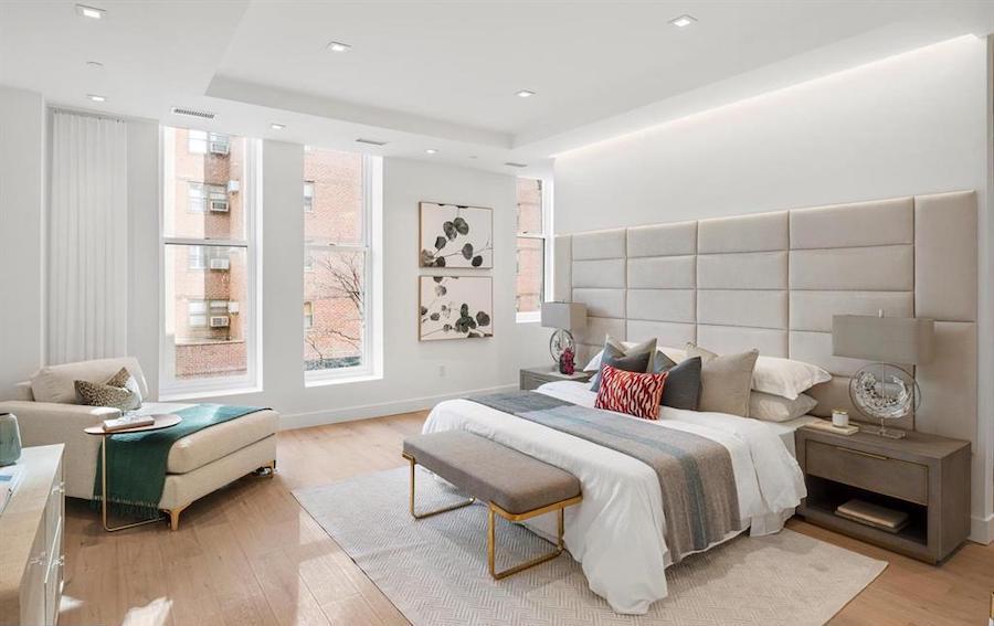 condo for sale rittenhouse square new construction master bedroom