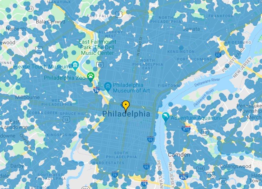 free wifi in philadelphia hotspots