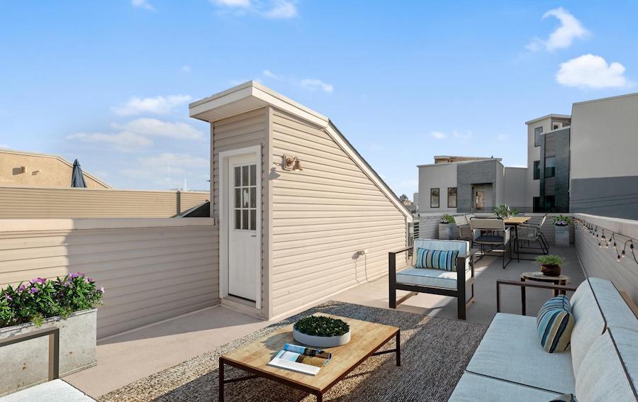 francisville newer bi-level roofdeck