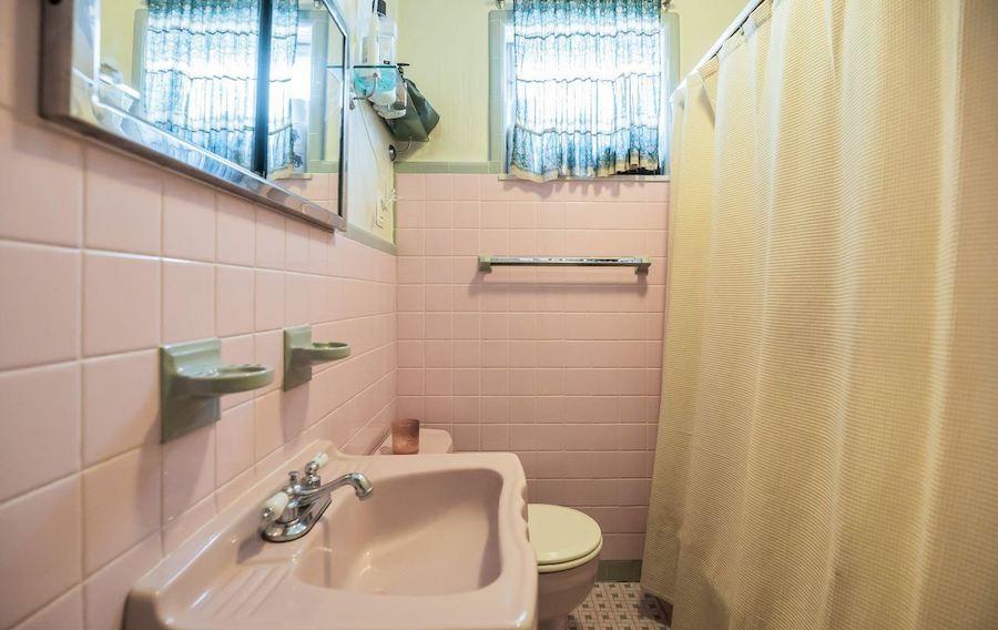 point breeze reclaimed row bathroom
