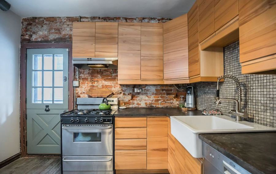 point breeze reclaimed row kitchen