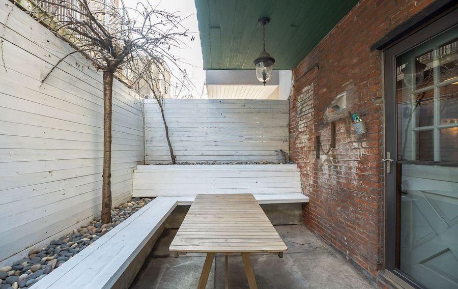 point breeze reclaimed row rear patio