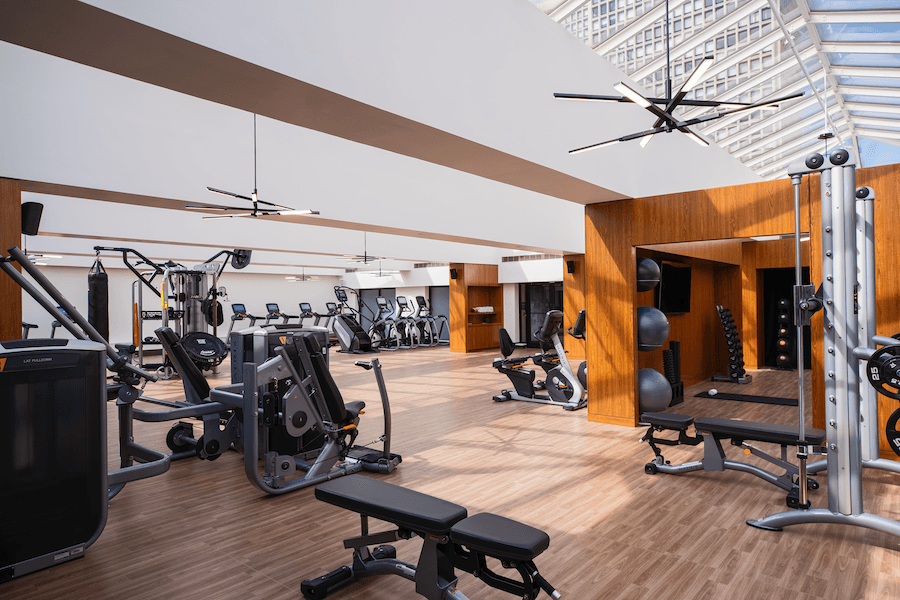 marriott old city fitness center
