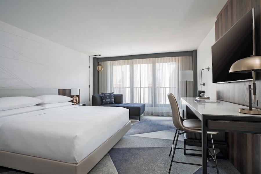 marriott old city standard king room