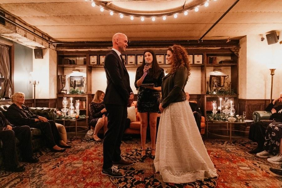 Harp and Crown wedding