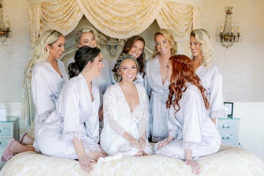 Bridesmaids' robes