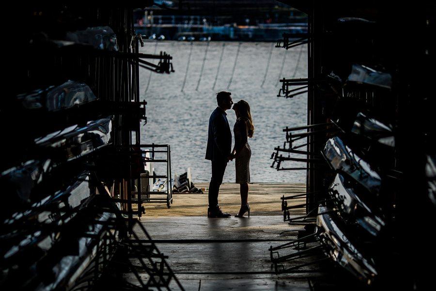 Vesper Boat Club wedding