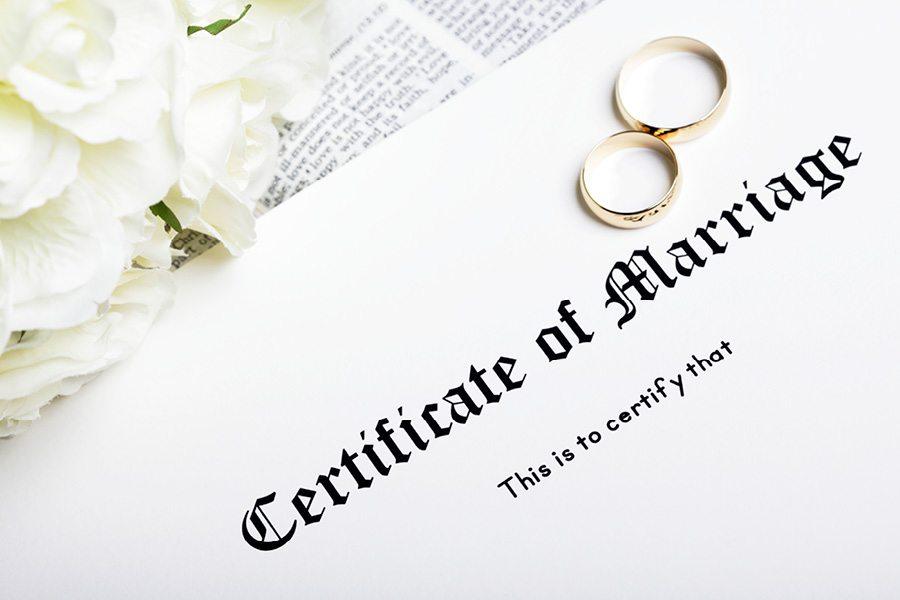 Marriage license Philadelphia