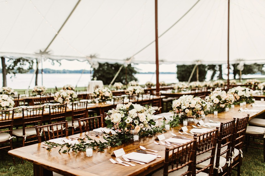 Andalusia waterfront wedding