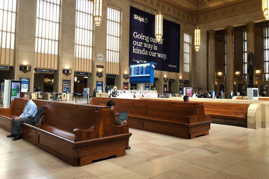 30th Street Station amid the coronavirus in Philadelphia