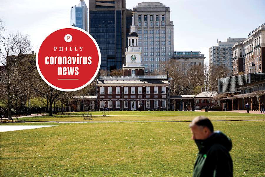 independence mall in philly is closed during the coronavirus crisis