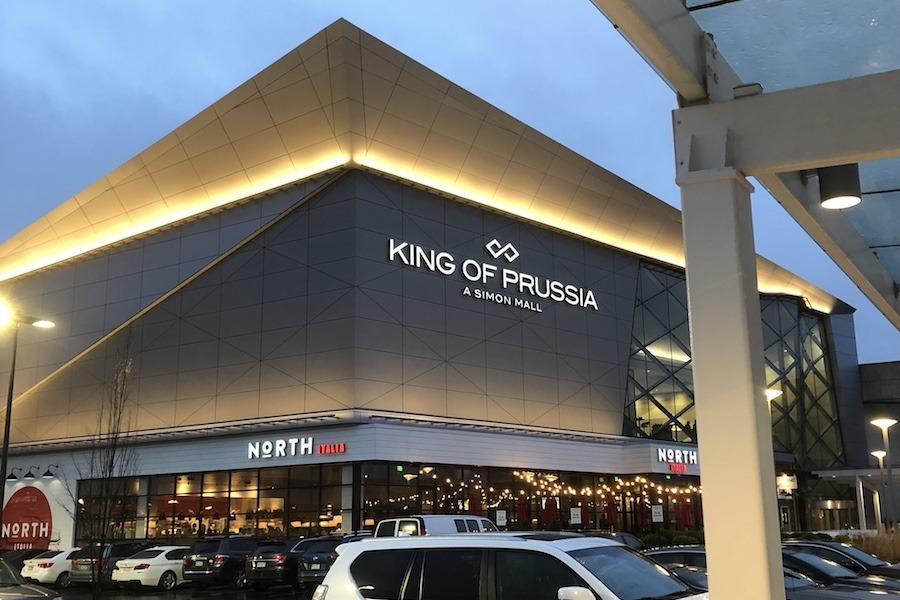 king of prussia mall coronavirus