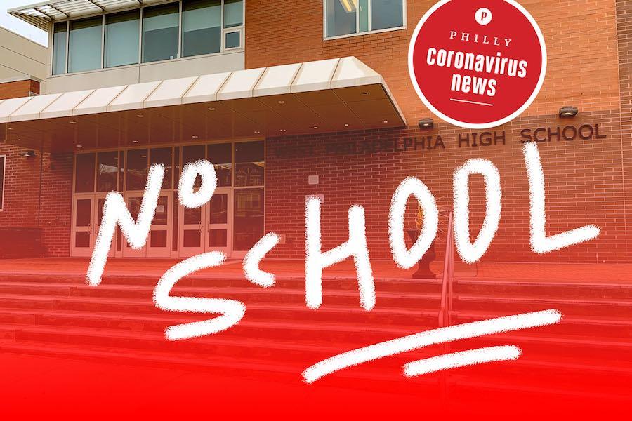 west philadelphia high school closed due to the coronavirus crisis