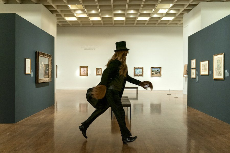 bigfoot in the philadelphia museum of art in dispatches from elsewhere