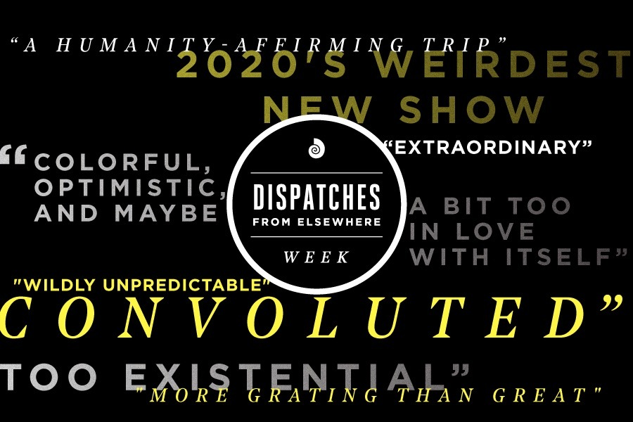 quotes from dispatches from elsewhere reviews