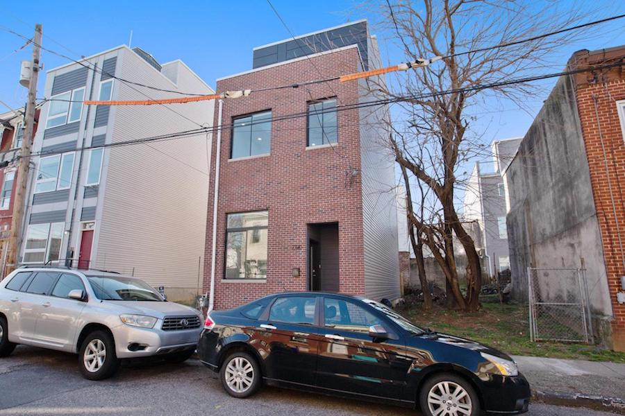 brewerytown young rowhouse for sale exterior front
