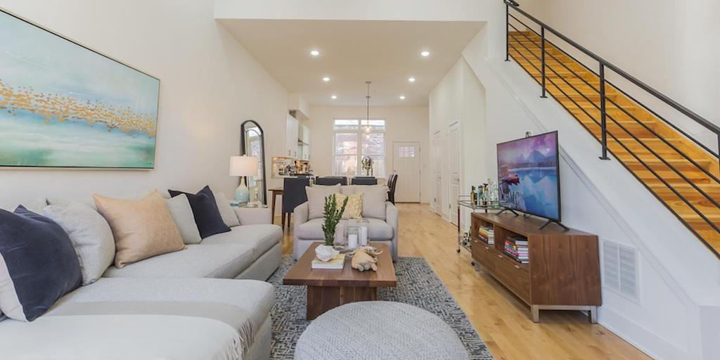 brewerytown young rowhouse for sale main floor
