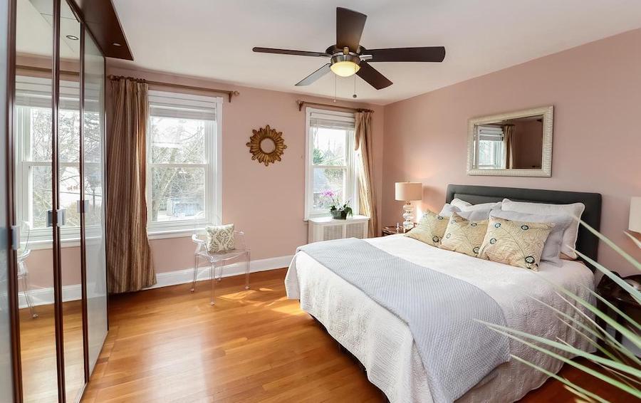 Main unit master bedroom