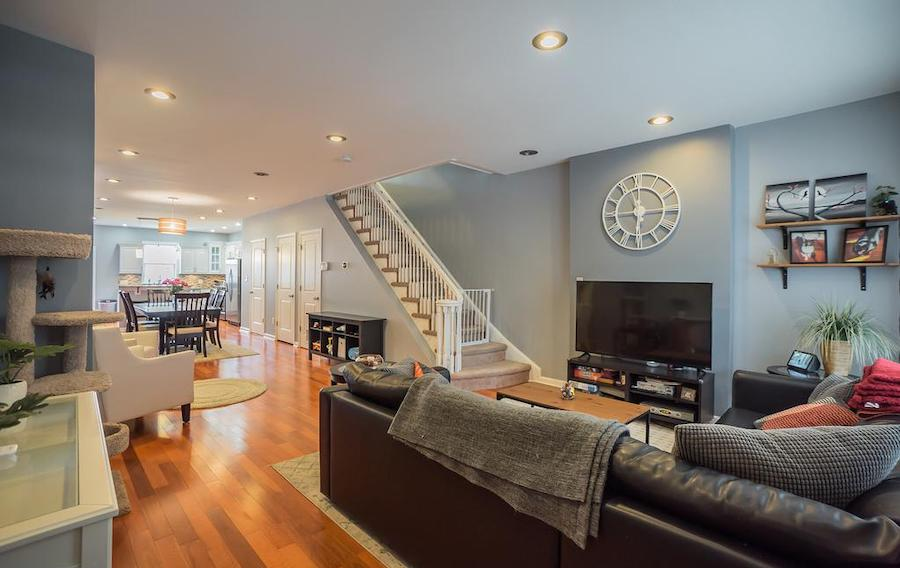 germantown italianate twin house for sale main floor