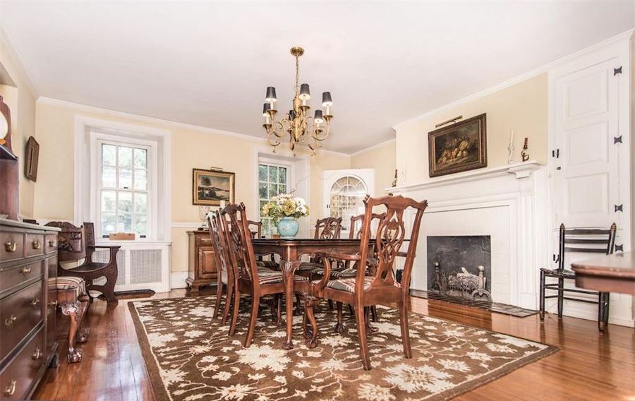 huntingdon valley colonial house for sale dining room