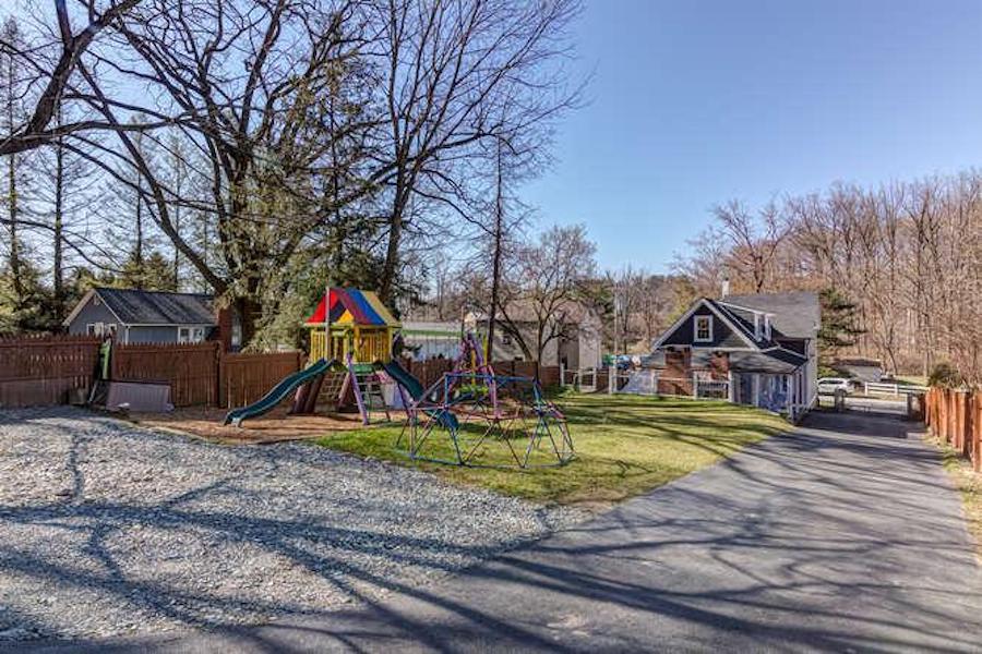kennett square expanded farmhouse backyard