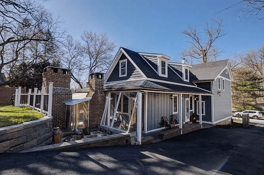 kennett square expanded farmhouse exterior rear