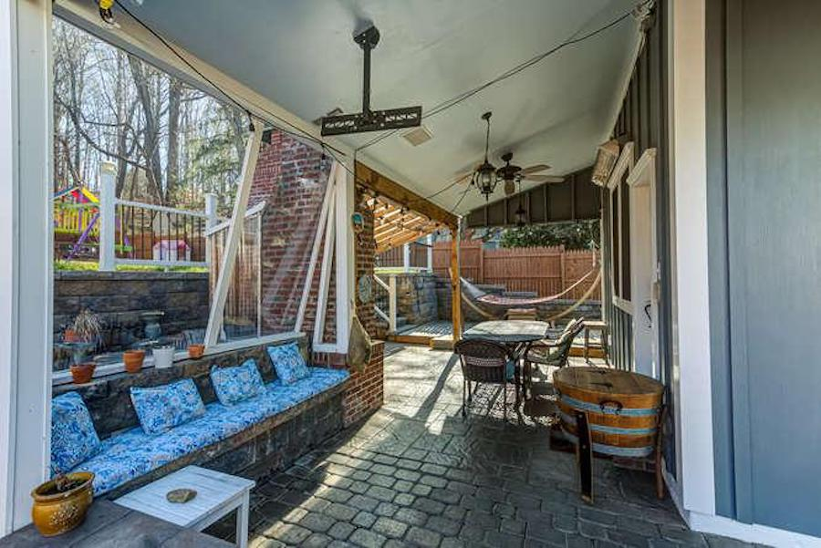 kennett square expanded farmhouse back porch