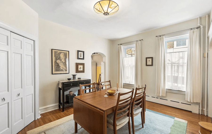 manayunk freestanding house for sale dining room