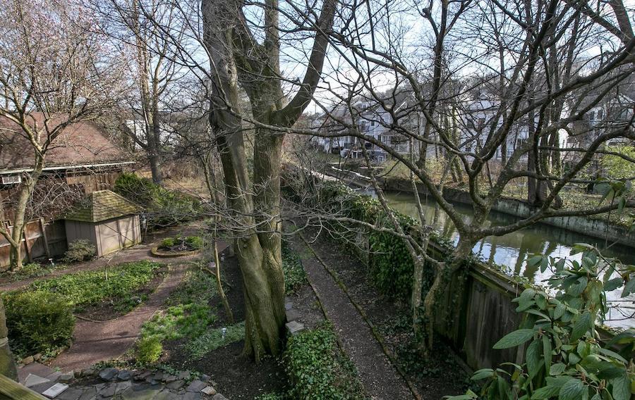 Backyard and Aquetong Creek
