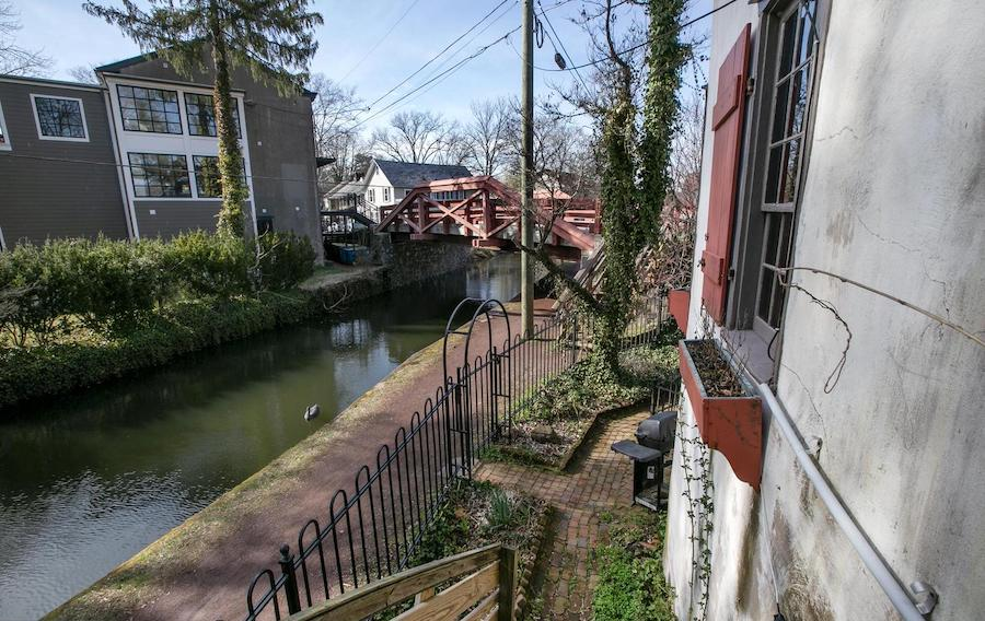 delaware canal from office space rear entrance