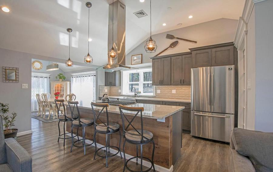 perkasie expanded ranch house for sale kitchen