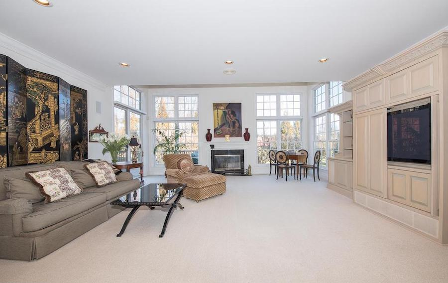 villanova neo-colonial house for sale great room